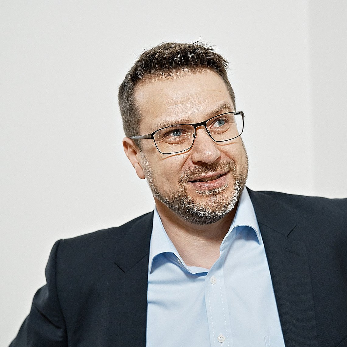 Portrait of Dr. Bernd Pape, Head of Digitization in Körbers Business Area Tobacco